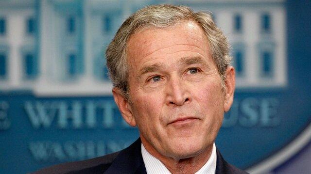 Başkan Donald Trump, 'ABD tarihindeki gelmiş geçmiş en büyük hatayı' Bush'a yıktı!