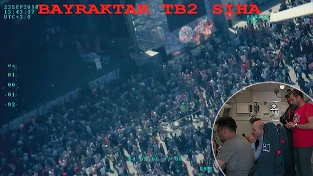İçişleri Bakanı Soylu Bayraktar SİHA'yı uçurdu