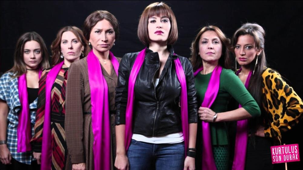 Kurtuluş Son Durak filminde, eşlerinden şiddet gören kadınların hikayesi anlatılıyor