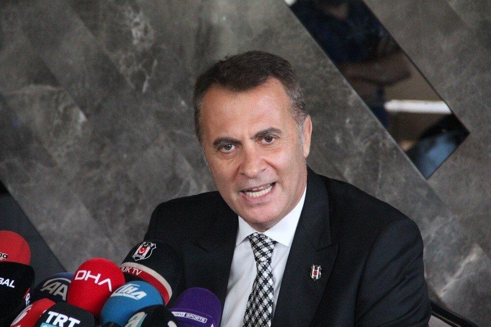 Beşiktaş Başkanı Fikret Orman'ın bir hayli sinirli olduğunu gözlendi.