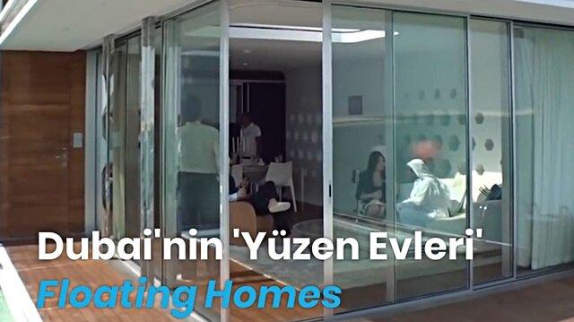 Dubai'nin 'yüzen evleri' dudak uçuklatan fiyatlara alıcı buluyor