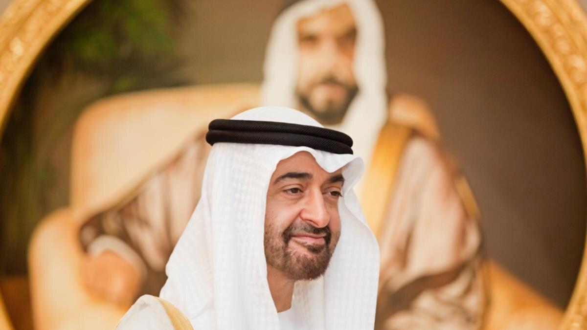 BAE Veliaht Prensi Muhammed bin Zayed.