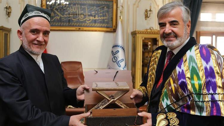 Tacikistan Ulema Konseyi Başkanı Saidmukkaram Abdulkodirzoda 2017 yılında Türkiye'ye geldiğinde İstanbul Müftüsü Hasan Hasan Kamil Yılmaz'la görüşmüştü.