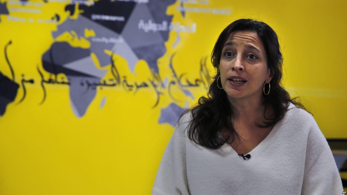 Uluslararası Af Örgütü Ortadoğu Araştırma Direktörü Lynn Maalouf.