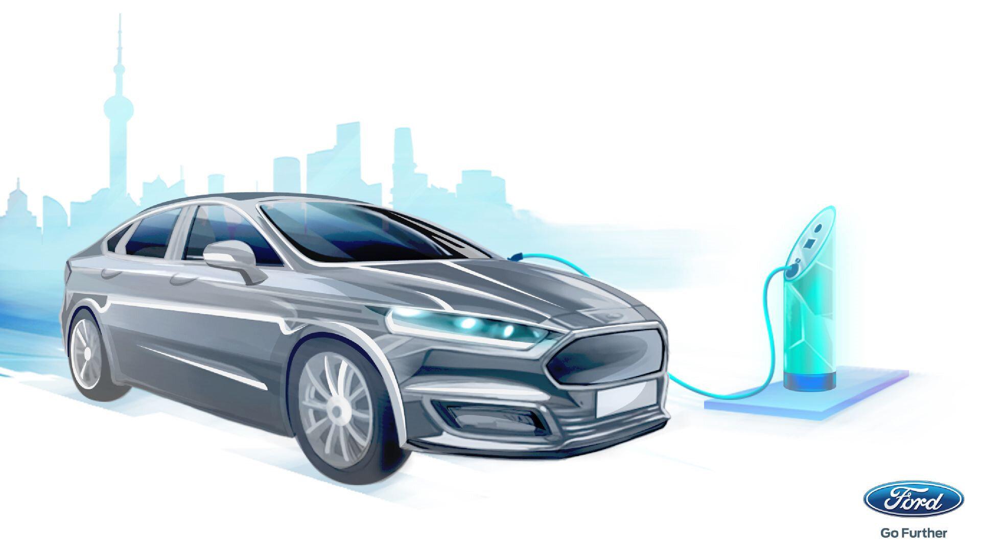 Ford, iddialı bir elektrikli otomobil üreticisi konumuna gelebilir. (Görseller heves uyandırıyor. :))