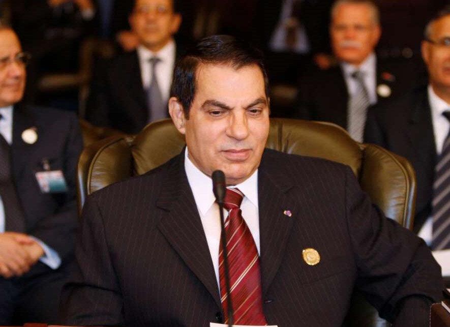 Arap Baharı'nın ilk başladığı ülke olan Tunus'ta dönemin Cumhurbaşkanı Zeynelabidin Bin Ali 2011 yılında Suudi Arabistan'a kaçtı ve halen orada yaşıyor.