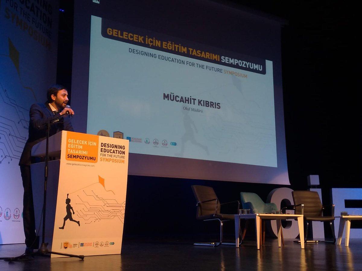 Marmara Anadolu İmam Hatip lisesi Müdürü Mücahit Kıbrıs