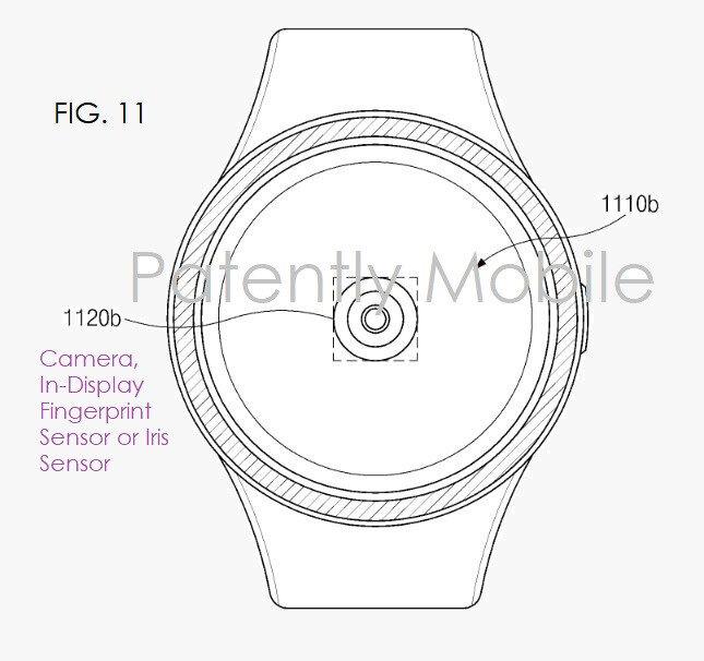 Samsung'un yeni akıllı saatinin taslak görüntüleri.