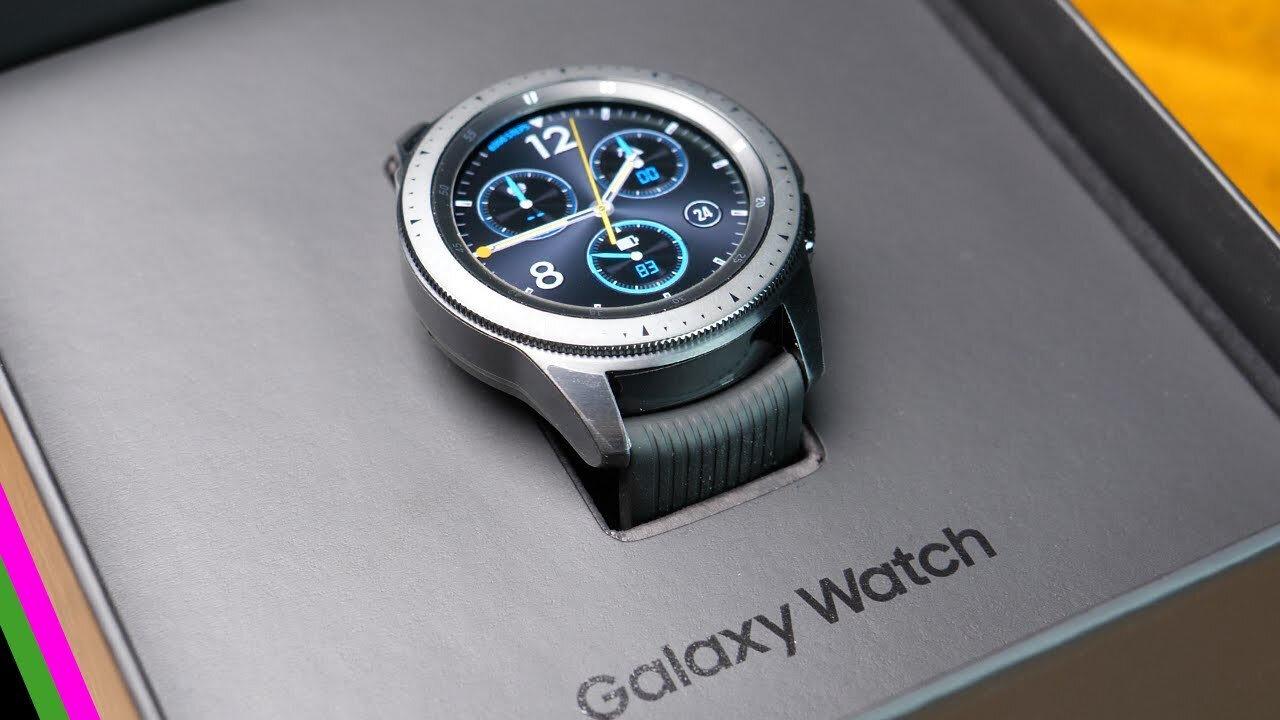 Samsung'un akıllı saat ürünleri.