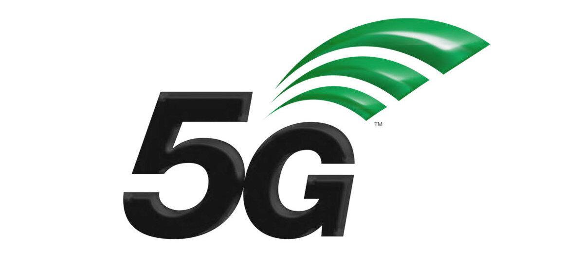 Standart halini alan 5G logosu.
