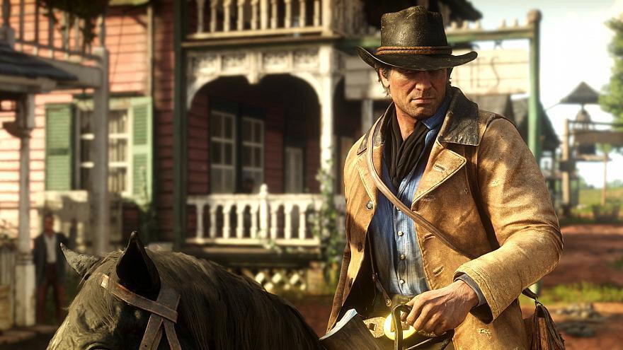 Sürükleyici hikayesiyle Red Dead Redemption 2, 'en iyi anlatım ödülü' kazanmayı başardı.