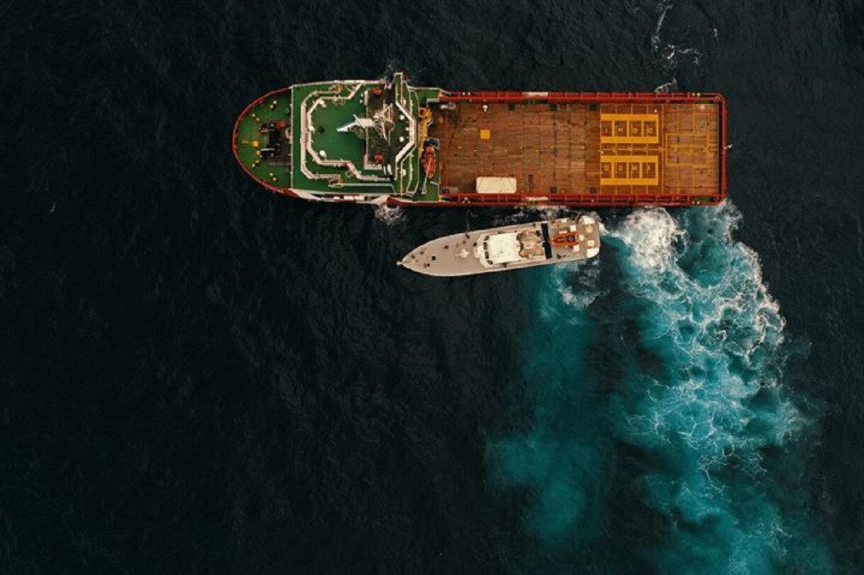Mersin açıklarında araştırma yapan Oruç Reis ve Barbaros Hayrettin paşa gemileri