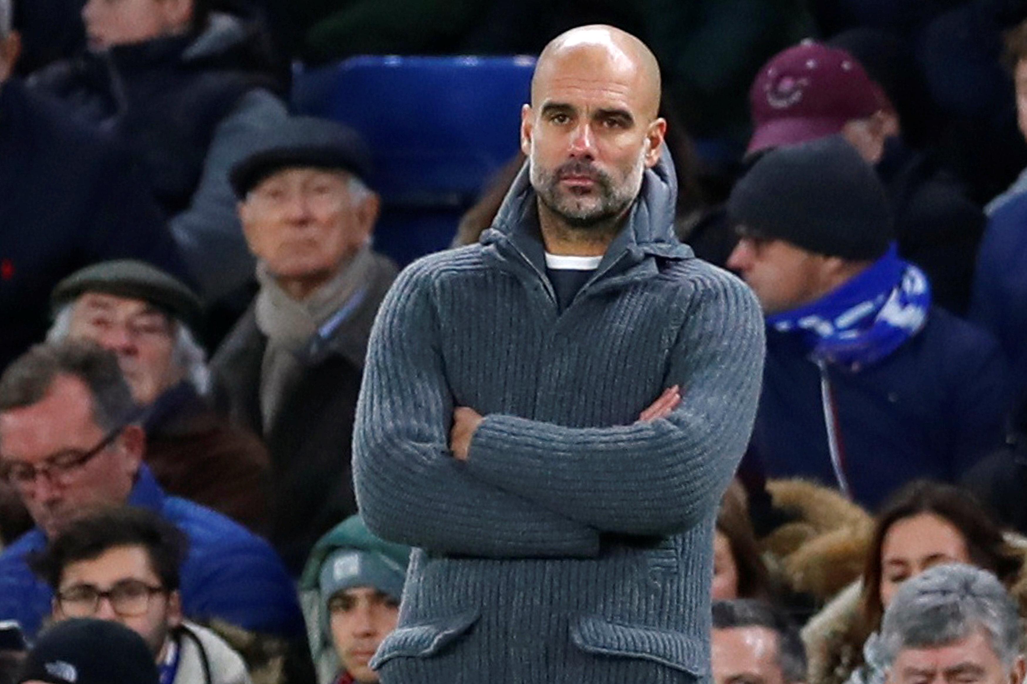 Pep Guardiola alınan sonuçtan hiç memnun değil.