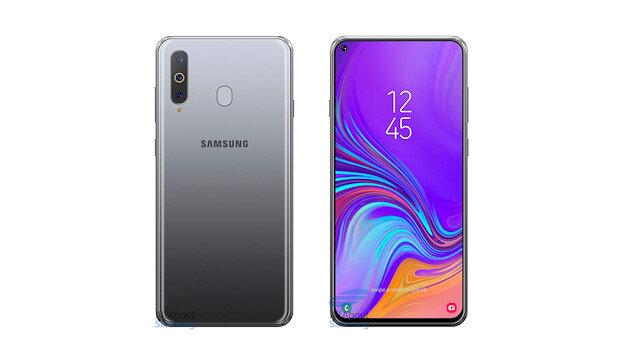 Dünyada ilk: Samsung, Infinity-O ekranlı Galaxy A8s'i tanıttı