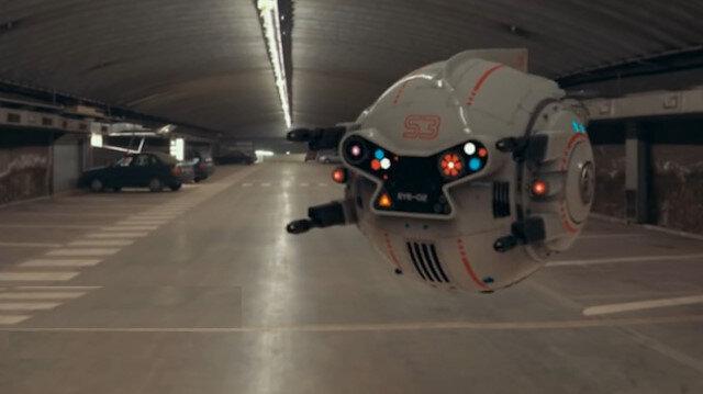 Cep telefonunuzla kontrol edebileceğiniz bir savaş drone'u