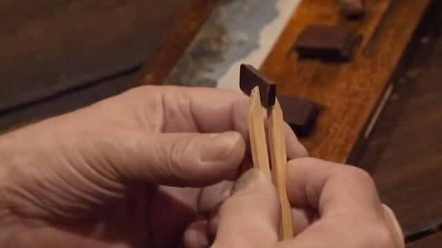 Elli gramı 3 bin TL'ye satılan 'dünyanın en pahalı çikolatası'