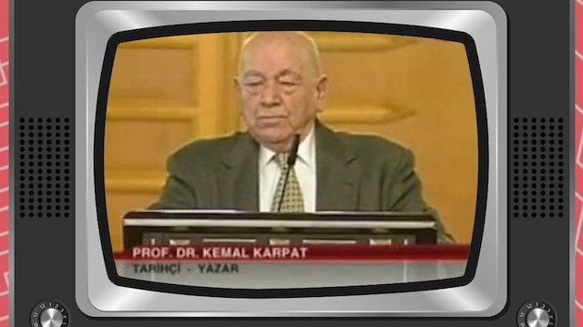 Tarihçi Kemal Karpat 'tarih' yeminini böyle açıklamıştı