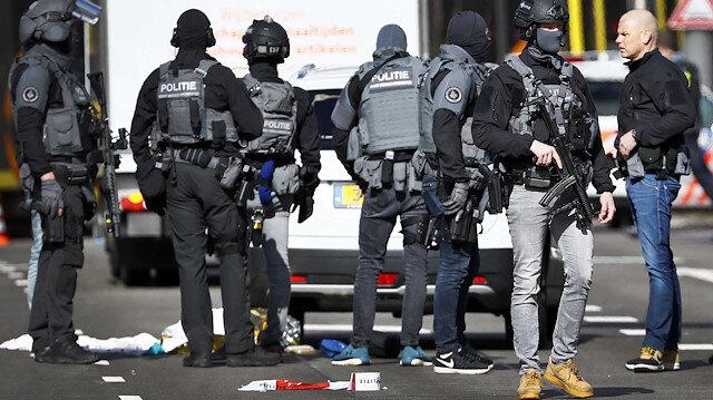 Utrecht'de saldırı: 'Terör' ihtimali üzerinde duruluyor