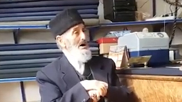 83 yaşındaki Necati dedenin 'Huma Kuşu' yorumu sosyal medyayı salladı