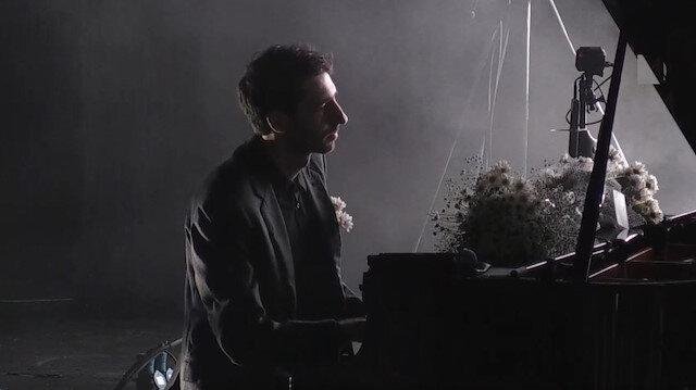 Rus piyanist Evgeny Grinko Harbiye'de sahne aldı