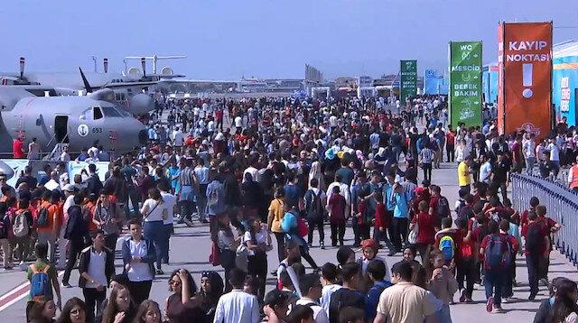 TeknoFest İstanbul'un 3'üncü gününde 'akrobasi uçuşları'