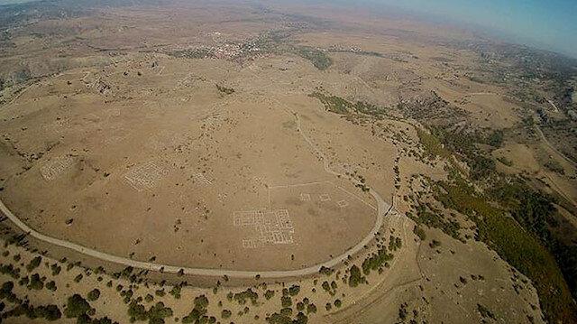 Turistler Hattuşa'yı havadan görecek