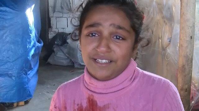 Kazada kardeşini kaybeden küçük kızın yürek sızlatan feryadı