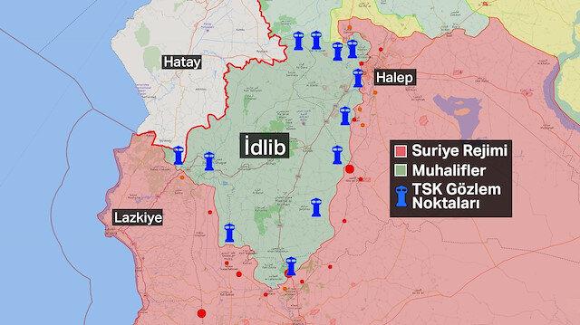 İdlib'deki 12 gözlem noktamızın önemi