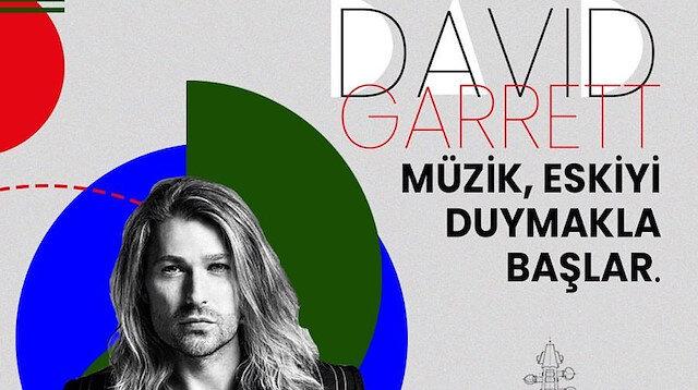 Müzik, eskiyi duymakla başlar: David Garrett 🎻