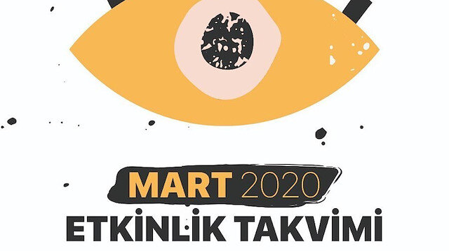 Mart 2020 Etkinlik takvimi