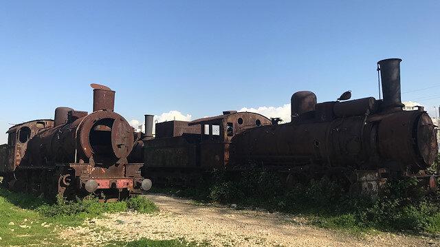 Hicaz Demiryolu'nun kalıntıları