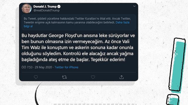 Trump'ın 'sansürlü' tweetleri