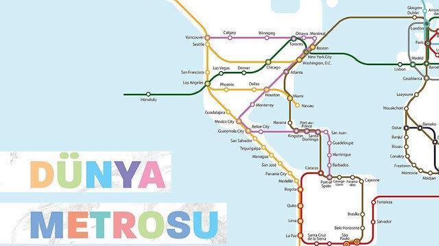 Çılgın proje! Metroya atlayıp hangi ülkeye gidelim? 😅