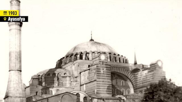 Fotoğraflarla tarihe yolculuk: Ayasofya