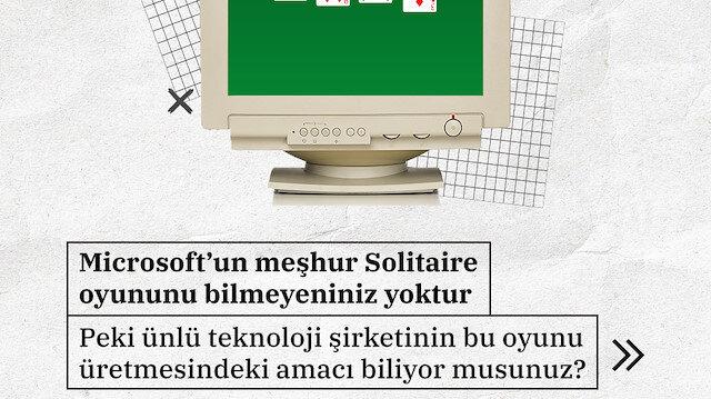Mouse kullanmayı öğreten oyun: Solitaire ▶️
