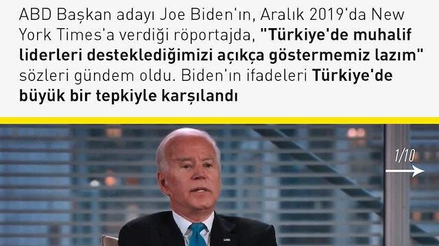 10 soruda Joe Biden'ın Türkiye yorumu
