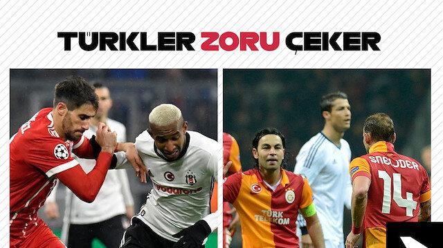 Türkler zoru çeker