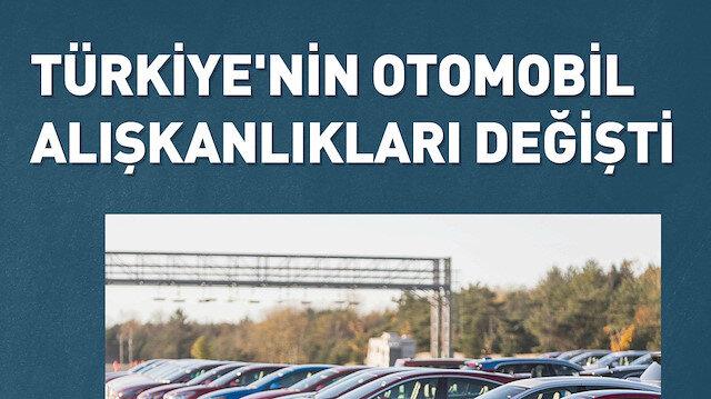 Türkiye'de satılan her 10 araçtan 7'si otomatik vites