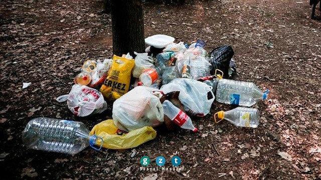 Belgrad Ormanı'ndaki isyan ettiren görüntüler! Ortalık çöpten geçilmiyor