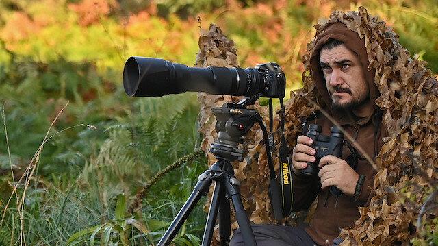 Kızıl geyikleri görüntüleyen fotoğrafçı Şenel: Tetiğe değil, deklanşöre bas
