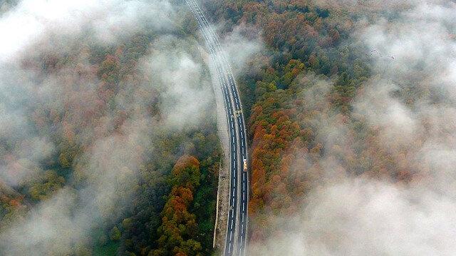 Türkiye'den dronla çekilmiş sis fotoğrafları: Bolu Dağı ve İstanbul Boğazı 🌫