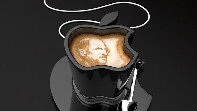 Kanadalı sanatçı Tomislav Zvonarić'in ofis kahve fincanı konsepti: 'Apple iCup'