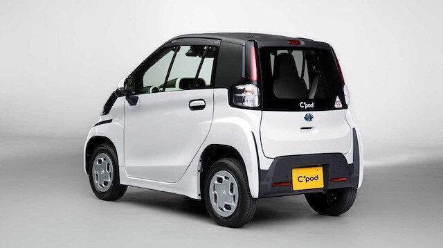 Sadece 12 beygir gücünde: Toyota elektrikli otomobili C+pod'u tanıttı