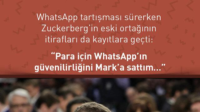 Whatsapp'ın kurucu ortağından Zuckerberg itirafları