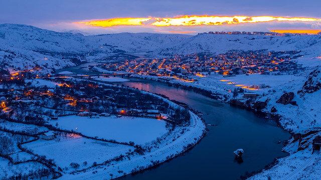 Kartpostal değil hepsi gerçek: İşte Türkiye'den kar manzaraları