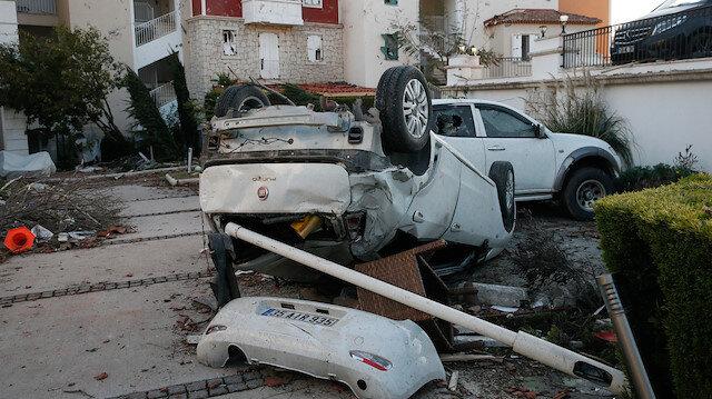 İzmir'de hortum felaketinin bilançosu gün ağarınca ortaya çıktı