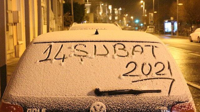İstanbul'da kar yağışı etkisini sürdürüyor: Her yer bembeyaz oldu