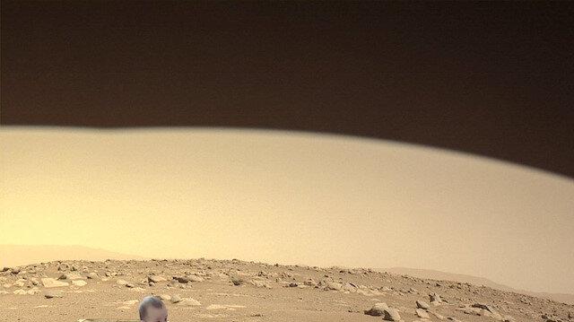 Persevarence aracı tarafından yeni çekilen Mars görüntüsü