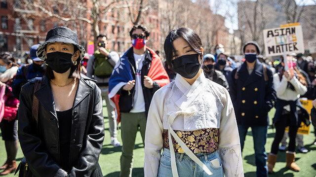 📷Fotoğraflarla ABD: Asyalı Amerikalılar ırkçılığa karşı New York sokaklarında