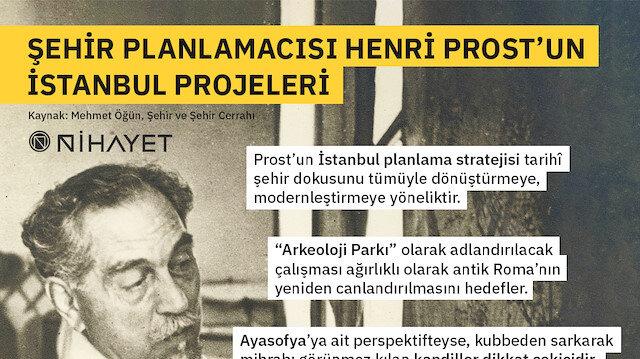 Şehir planlamacısı Henri Prost'un İstanbul projeleri